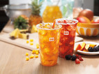Dunkin' Donuts Introduces New Fruited Iced Teas in New England. (Credit: Dunkin' Donuts)