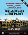 Jason Mraz Joins Jackson Browne And Bonnie Raitt For A Benefit Concert At Standing Rock To Stand In Solidarity With Standing Rock