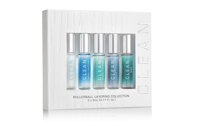 CLEAN Five-Piece Rollerball Layering Set