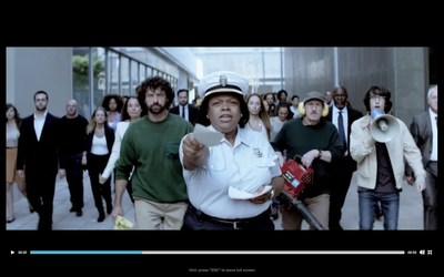 """Consumers can visit Carnival Corporation's new campaign hub created by BBDO Atlanta - WorldsLeadingCruiseLines.com - for details on how to vote for their favorite of four possible advertisements. The """"Getaway"""" ad shows how cruising gives guests the chance to get away from all the stresses of life."""