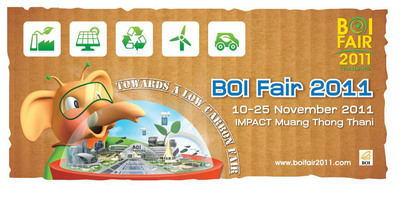 The First Low Carbon Fair in Thailand.  (PRNewsFoto/THAILAND BOARD OF INVESTMENT)