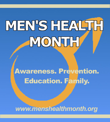 June is Men's Health Month! Spread the word and encourage a loved one to start living a healthier life today.  (PRNewsFoto/Men's Health Network)