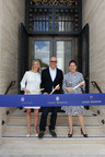Mary Cunsolo: Salon Director, Harry Winston Miami Design District; Craig Robins: CEO & President, Dacra; Laurie Adorno: US Vice President of Retail, Harry Winston