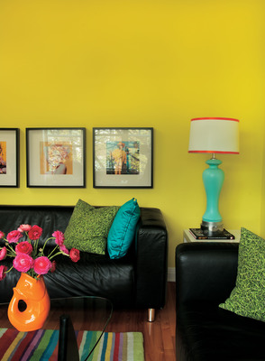 Deco Candy - one of PPG Pittsburgh Paints four new color trend palettes for 2012.  (PRNewsFoto/PPG Industries, Inc.)