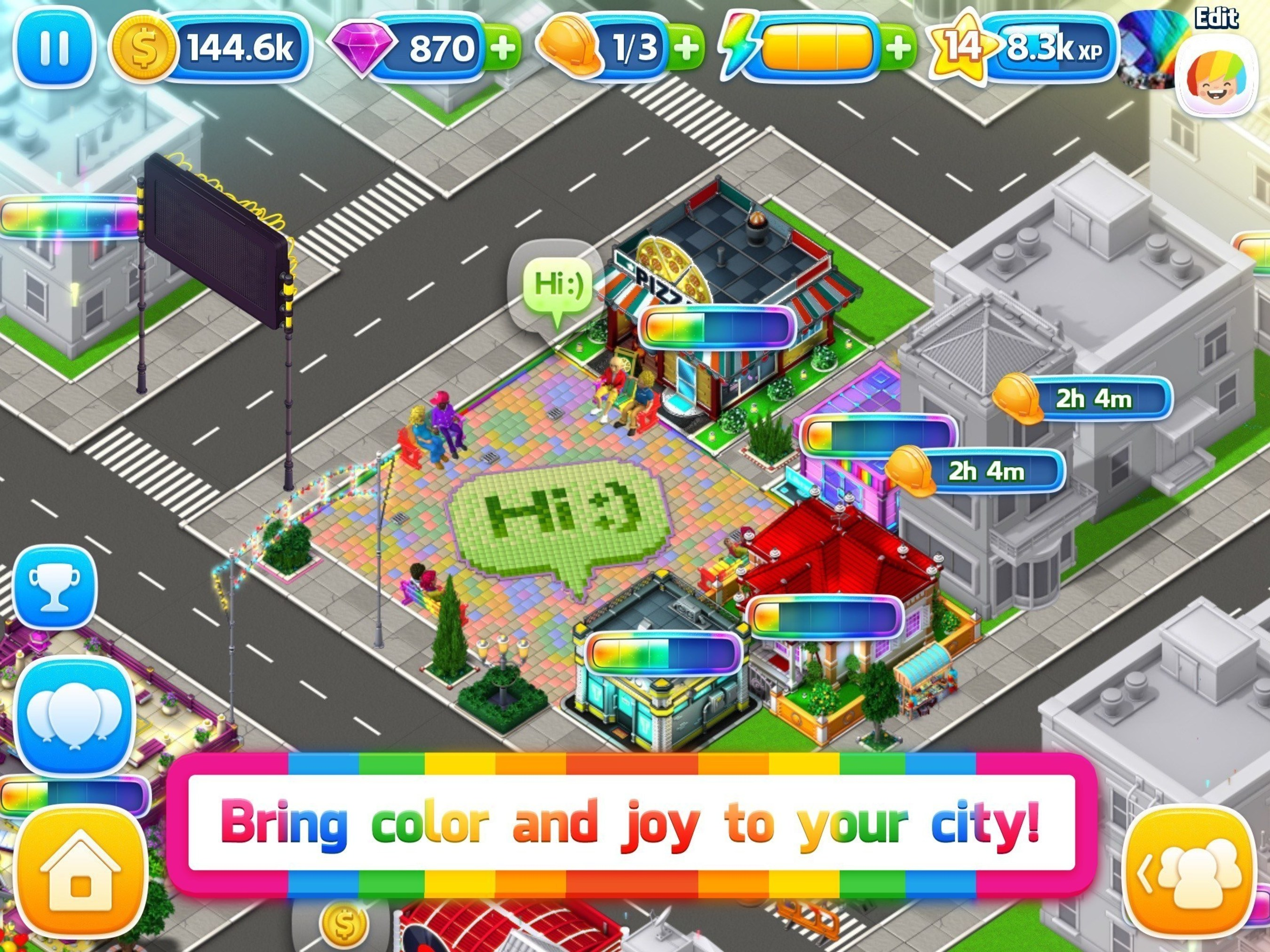 Atari' Announces Test Launch in Canada for its Original LGBTQ Social-Simulation Game, Pridefest; 'Available Friday, September 25, 2015 to Canadian Customers on the App