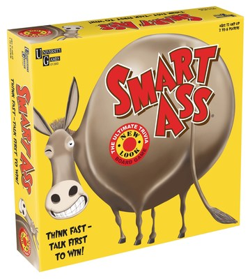 Smart Ass, the popular party game by University Games