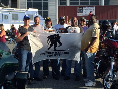 A group of injured veterans with Wounded Warrior Project escorted hundreds of motorcycle riders across Maryland on a 65-mile rural tour during the Second Annual Ride with the Heroes. The ride is an annual community event that recognizes service members including military, firefighters, and police.