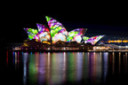 Vivid Sydney 2014 Lighting the Sails Sydney Opera House James Horan Destination NSW