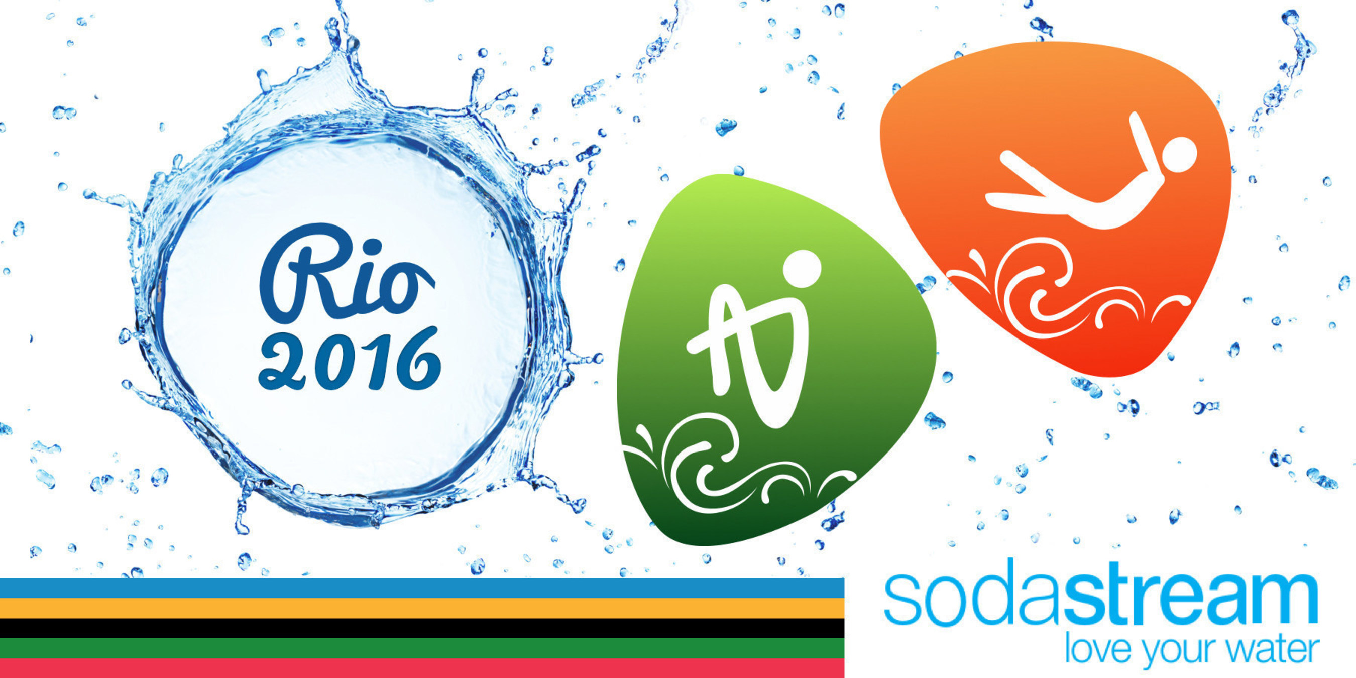 """Sign SodaStream USA's """"Bubbles for Rio"""" Petition to Bring Cannonballs and Bellyflops to Rio 2016 Olympic Diving Events --Signers Can Enter to Win Prize of a SodaStream Rio Bubbles Bundle or Grand Prize of $2,016"""
