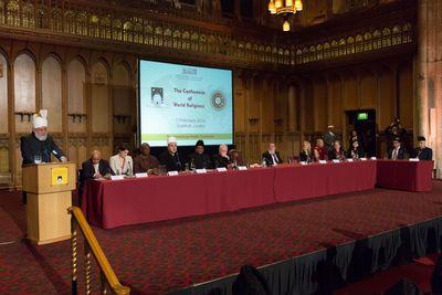 Conference of World Religions - Stage (PRNewsFoto/AHMADIYYA MUSLIM ASSOCIATION)