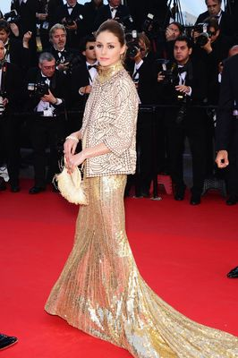 Olivia Palermo wearing AVAKIAN, at the 66th Cannes Film Festival 2013