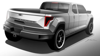 Workhorse W-15 Electric Pickup Truck