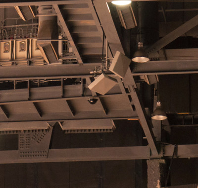 Galtronics Extent(TM) D5777i 30 degree/30 degree Narrow beam high gain LTE MIMO stadium antennas installed at the Gila River Arena