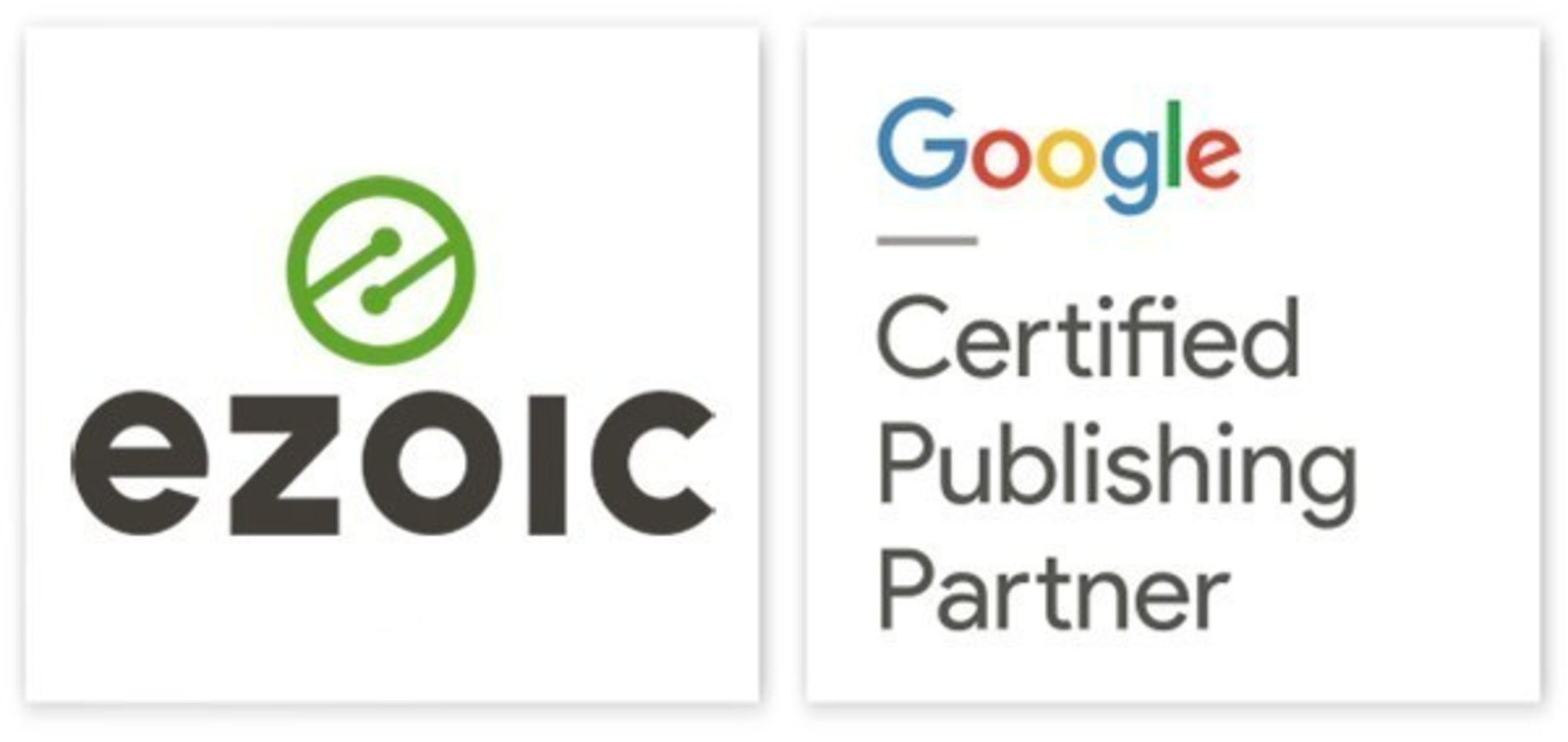 Ezoic chosen for new Google's Certified Publishing Partner Program.