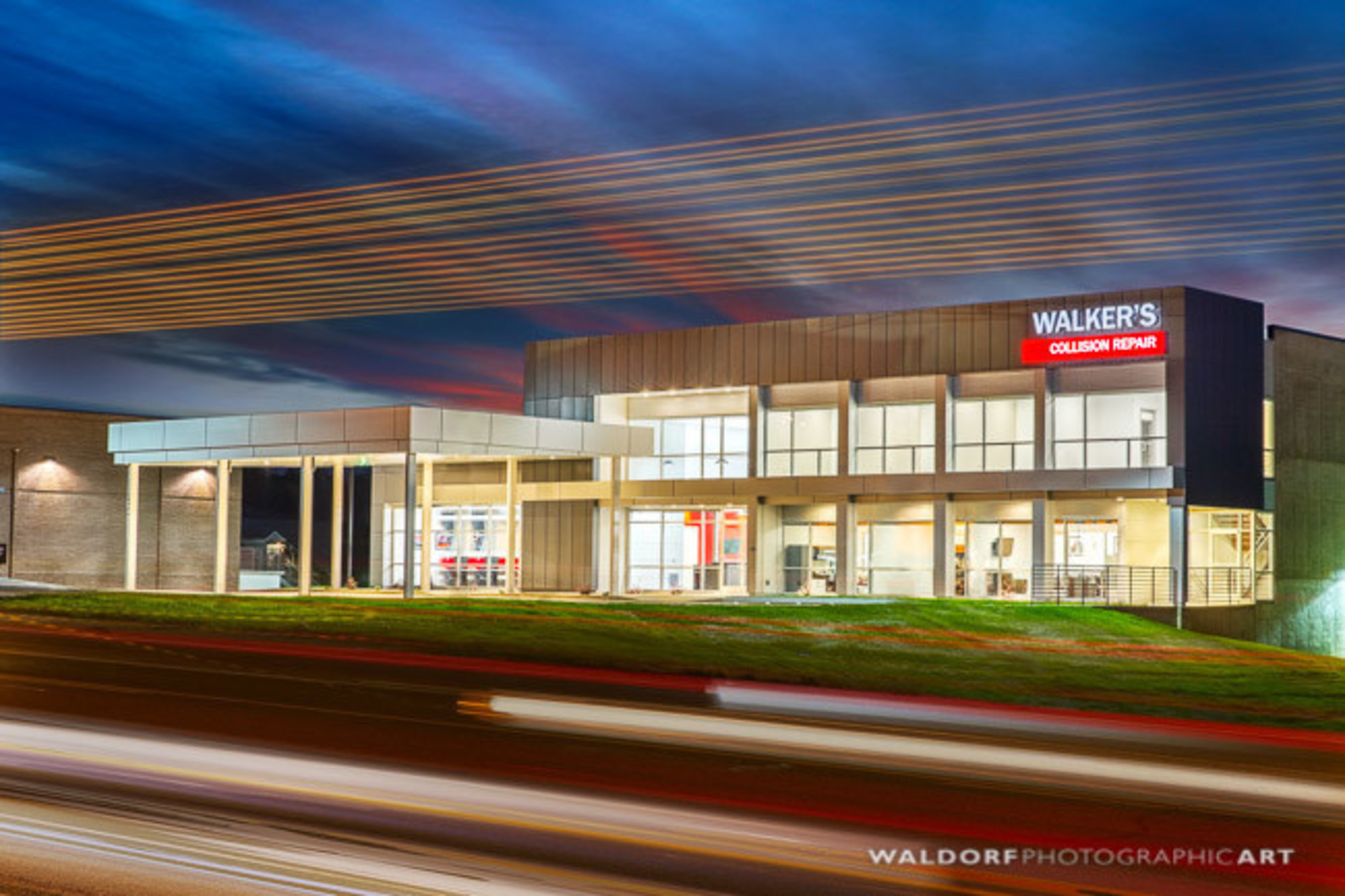 Walker's Automotive Partners with Studio Four Design to Build New Body Shop