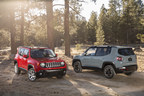 The Jeep(R) Renegade (pictured) was one of five FCA US LLC vehicles honored on Strategic Vision's 'Most Loved Vehicles in America' list. The Dodge Charger and Durango as well as Fiat 500 and 500e all won their respective segments.