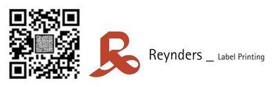 Notice the uncopiable pixels in the Scantrust-Reynders QR code (PRNewsFoto/Reynders Label Printing)