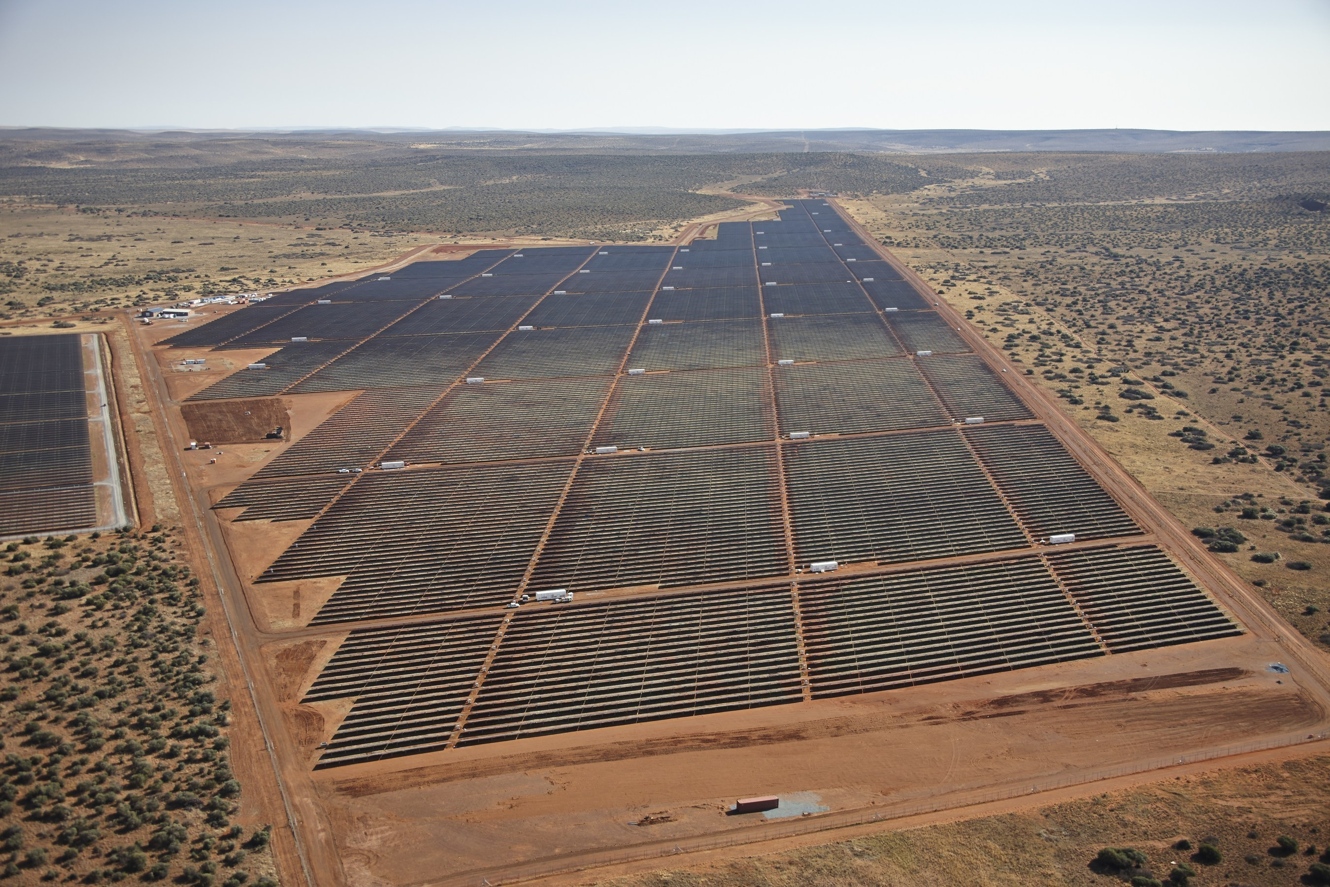 Largest african solar energy plant comes online in south for Solar ranch