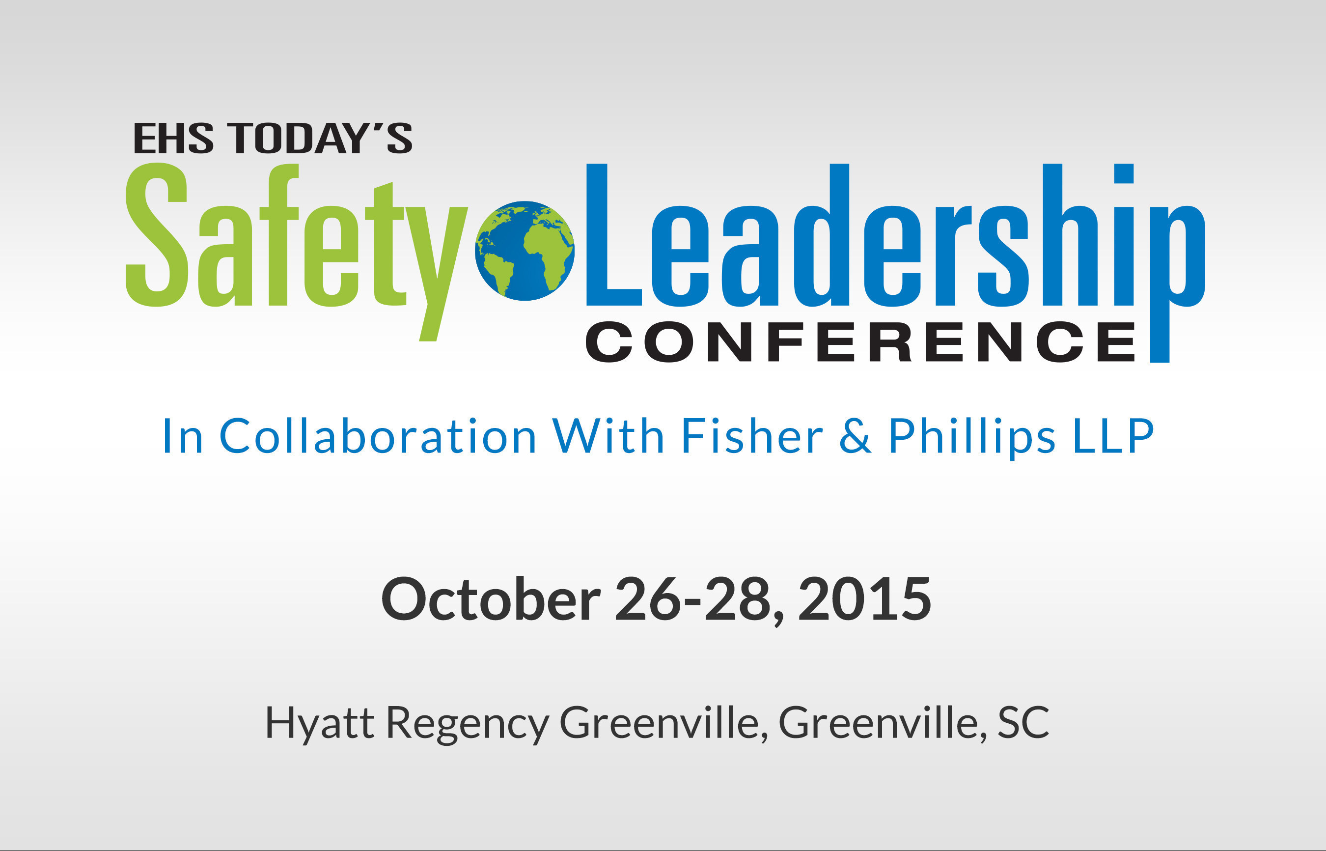Learn How to Create a World-Class Safety Excellence Culture at Penton's 2015 EHS Today Safety
