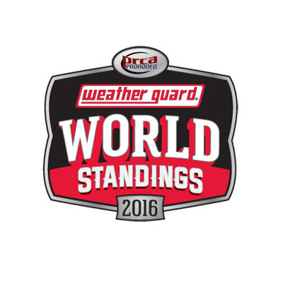 WEATHER GUARD PRCA World Standings Logo