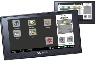 Teletrac Navman's Drive app on Garmin helps facilitate daily fleet workflow.
