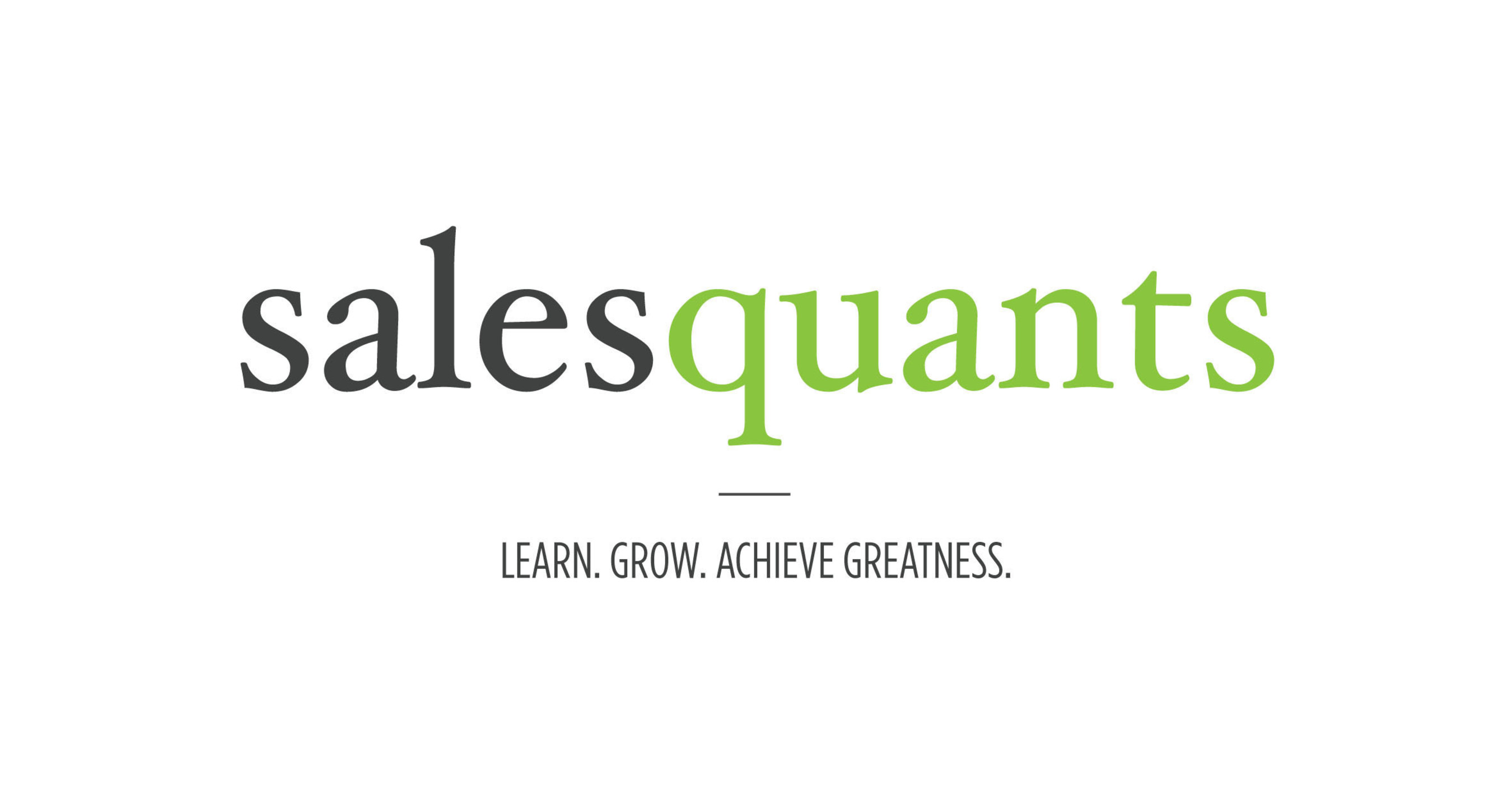 SalesQuants Launches Sales Acceleration Resources for Data-Minded Sales Leaders