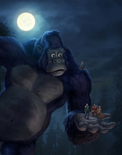 NETFLIX, ARAD ANIMATION AND 41 ENTERTAINMENT ANNOUNCE KONG - KING OF THE APES(TM), A NEW ORIGINAL SERIES FOR KIDS (PRNewsFoto/Netflix, Inc.)