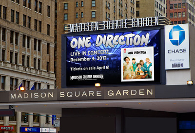 One Direction To Headline Madison Square Garden December 3 2012