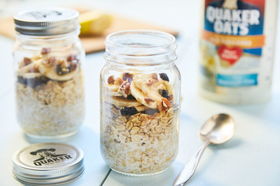 Beginning Tuesday, Dec. 6, Chef'd will add three Quaker Overnight Oats meals to its meal-kit marketplace, making it one of the only major meal delivery services to offer breakfast. At $10 for a double serving, consumers will be able to choose between Blueberry Honey, Strawberry Blueberry Maple Syrup or Dried Cherry Banana Pecan & Brown Sugar Overnight Oats meals - all featuring Quaker Old Fashioned Oats.