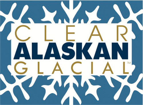 Clear Alaskan Glacial Logo. (PRNewsFoto/Alaska Brands Group, LLC) (PRNewsFoto/ALASKA BRANDS GROUP, LLC)