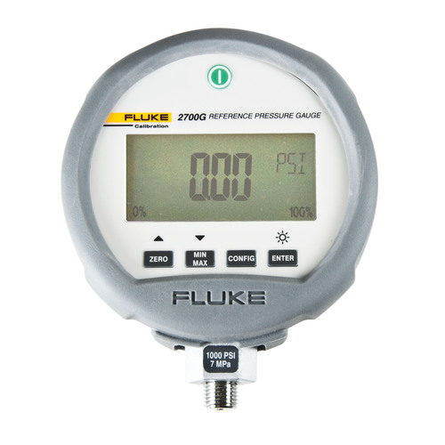 Fluke Calibration 2700G Series Reference Pressure Gauges provide a highly accurate, versatile pressure ...