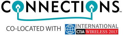 Parks Associates CONNECTIONS(TM) Connected Home Conference with CTIA WIRELESS 2013 logo.  (PRNewsFoto/Parks Associates)