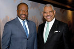Orlando Ashford, president, Holland America Line (left), and Arnold Donald, CEO, Carnival Corporation have been named to Savoy Magazine's Top 100 Most Influential Blacks in Corporate America List for 2016