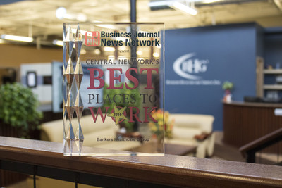 Bankers Healthcare Group, the leading provider of financial solutions for healthcare professionals, was named one of Central New York's Best Places to Work.