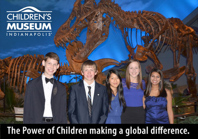 Never underestimate the power of children! These extraordinary youth help veterans find employment, prevent teens from committing suicide, refurbish wheelchairs to aid with accessibility, provide resources for thousands of orphans and assist victims of natural disasters. The Children's Museum of Indianapolis presented them with The Power of Children Award for their global efforts.