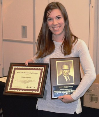 BrassCraft Senior Buyer, Melanie Hanaway, Receives Company's Prestigious 2014 Zell Award