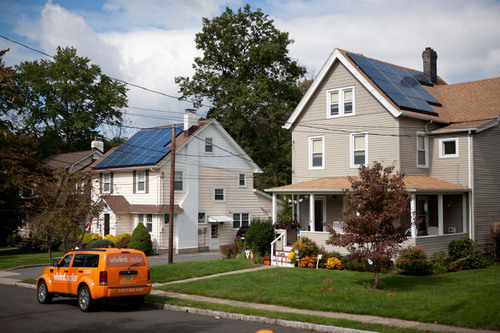 Vivint Solar now offers solar power solutions to residents in Mount Laurel, Sayreville and Toms River.  (PRNewsFoto/Vivint Solar)