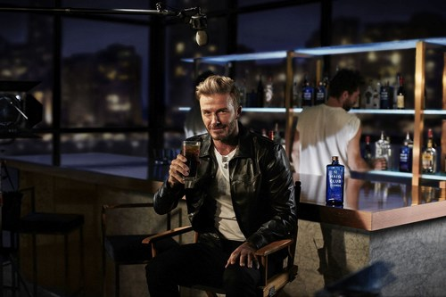 David Beckham introduces HAIG CLUB CLUBMAN - A new Single Grain Scotch Whisky from HAIG CLUB (PRNewsFoto/Diageo)