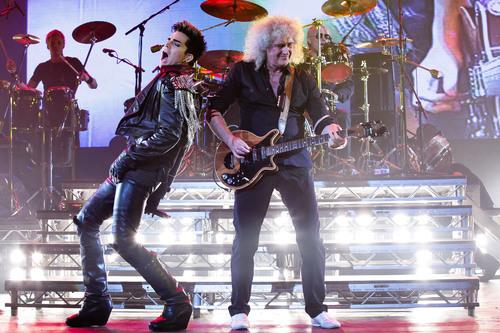 Queen + Adam Lambert Announce Summer Tour. (PRNewsFoto/Live Nation Entertainment) (PRNewsFoto/LIVE NATION ...