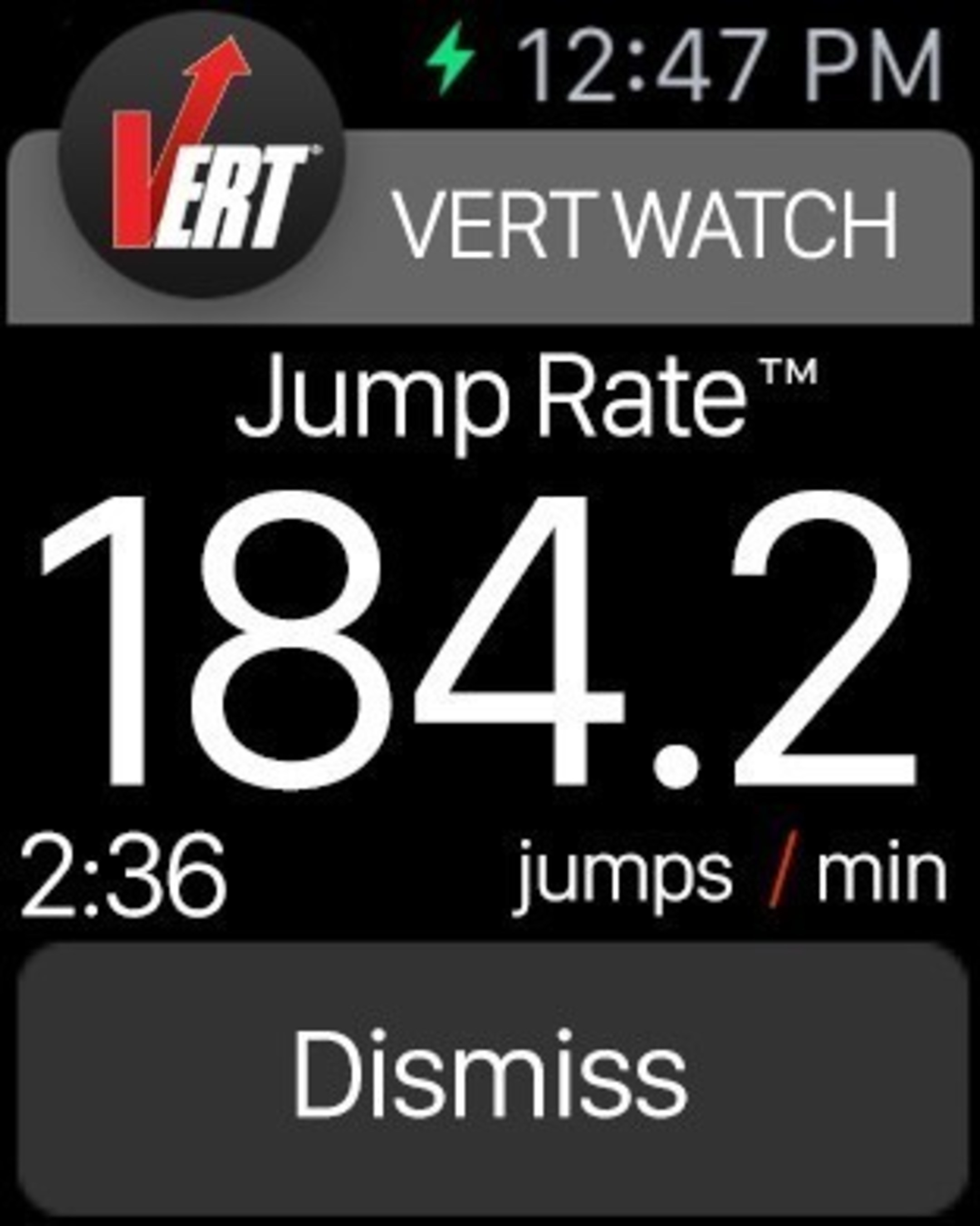 VERT Launches Jump Data App on Eve of Apple Watch Sales