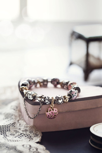 PANDORA Unveils Four New Jewelry Pieces Benefiting Susan G. Komen for the Cure®
