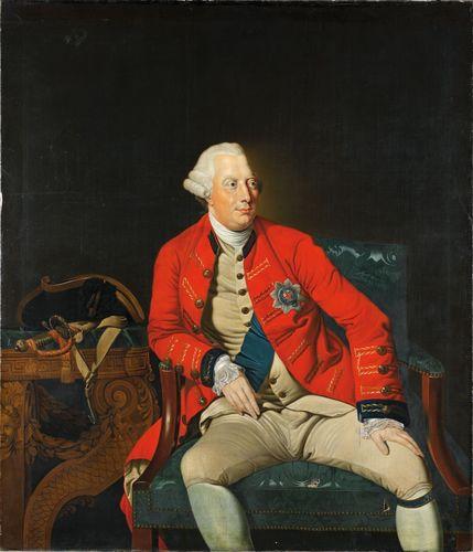 King Georg III was the ruler of Great Britain and Hanover.(c) Niedersächsisches Landesmuseum Hannover (PRNewsFoto/Hannover Marketing und Tourismus)