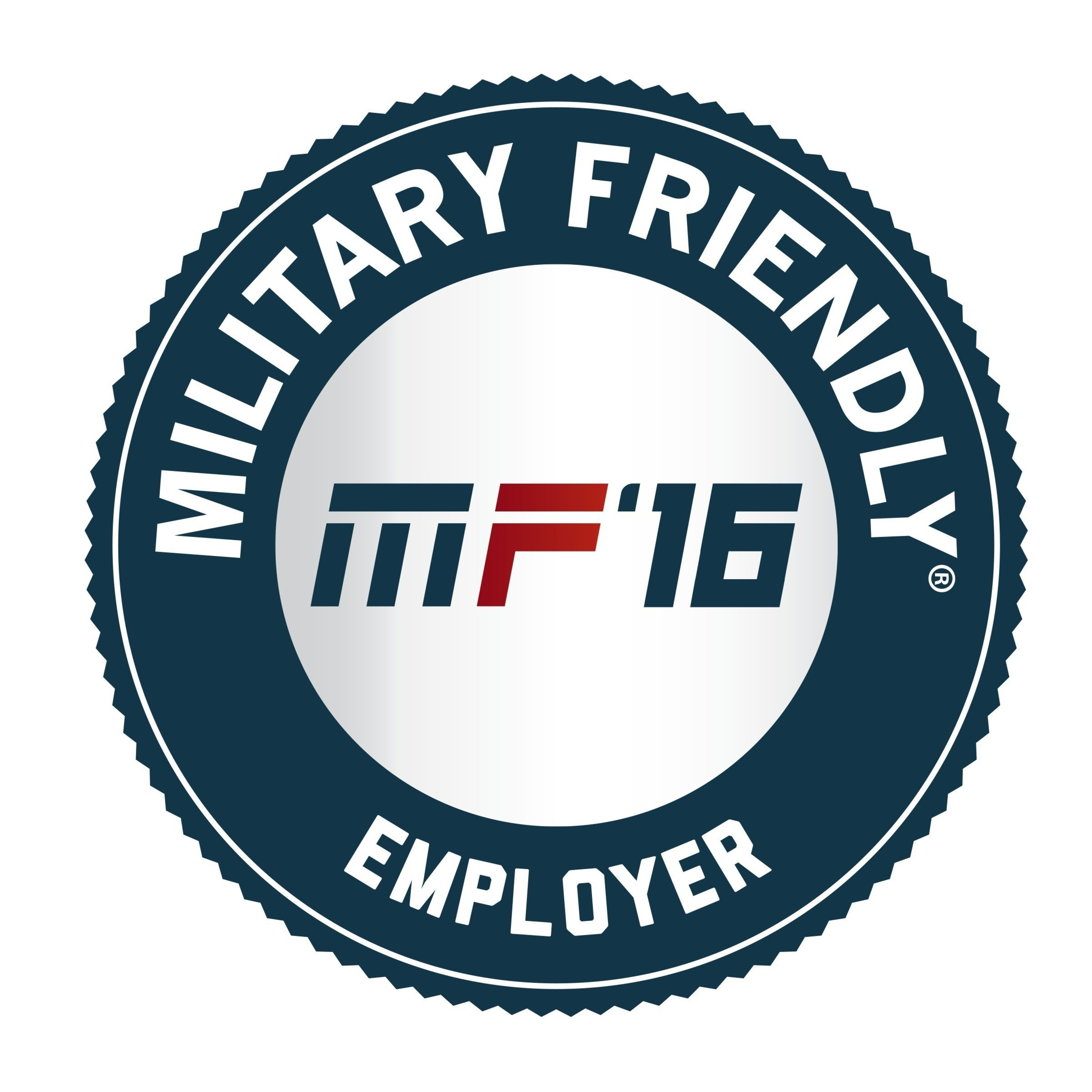 Military Friendly Employer 2016