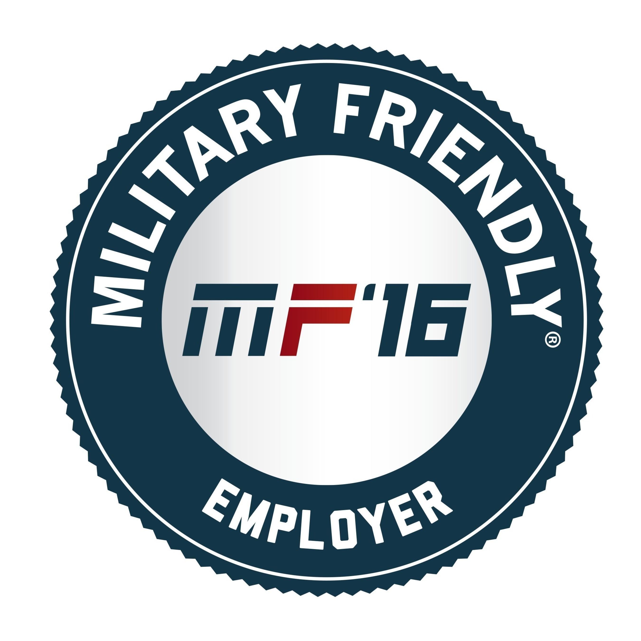 Military Friendly Employer 2016