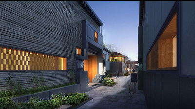 The upgrading of Nanjing's position in China's economic strategy undoubtedly shores up the wealth class's investment confidence in the city's market; Zhu Yufan, landscape designer, winner of the ASLA award and Dean of Landscape Department at Tsinghua University, was responsible for the Oriental beauty that characterizes the housing estate, delivering an excellent and accurate reproduction of traditional courtyard homes.