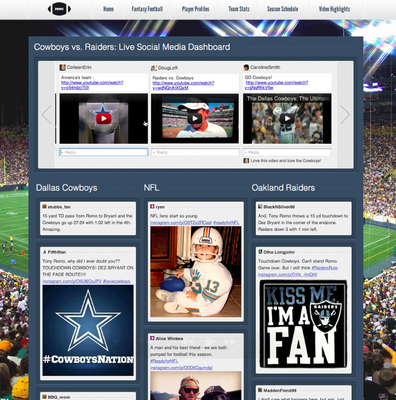 StreamHub brings conversations, images and videos from across the Social Web to one central site.