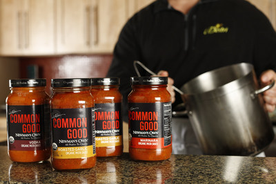 Newman's Own's Common Good organic pasta sauces were created in the Innovation Center of LiDestri Food and Beverage in Rochester, NY. Newman's Own CEO Mike McGrath and LiDestri CEO Giovanni LiDestri worked together to create the recipes from 1.5 million pounds of tomatoes that Giovanni LiDestri commissioned from a grower in California. The sauces are marinara, roasted garlic, vodka, tomato basil and arrabiata and they are available at Kroger stores nationwide.