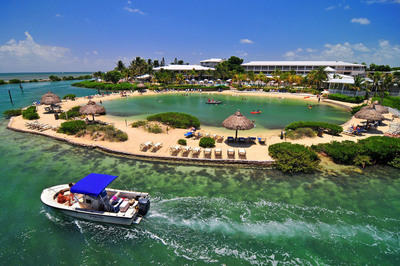 Largest destination resort in Florida Keys, Hawks Cay, is acquired by Carey Watermark Investors. Surrounded by the Atlantic Ocean and Gulf of Mexico, the resort offers the widest array of facilities and amenities in the Keys.  (PRNewsFoto/Carey Watermark Investors Incorporated)