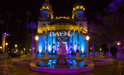 DAOU hosts 250 guests from their Wine Club at HEARST CASTLE on Sep 13, 2014