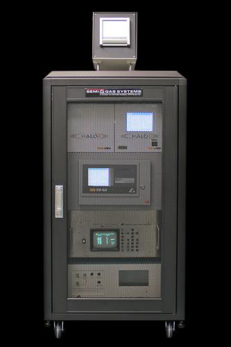SEMI-GAS Debuts Mobile Analytical Cart for Critical Gas Line Monitoring. (PRNewsFoto/SEMI-GAS Systems) (PRNewsFoto/SEMI-GAS SYSTEMS)